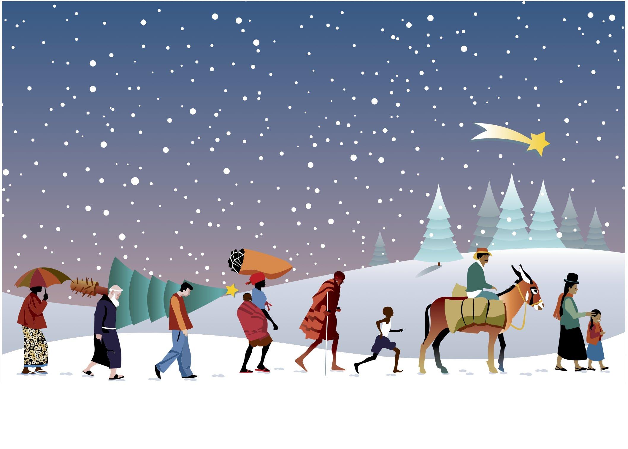 Christmas Caravan design