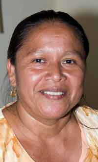 Adelia Leonides, a Midwife