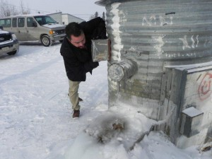 A common water point in Pikangikum. Photo: Pikangikum Working Group
