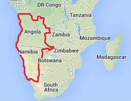Angola and Namibia