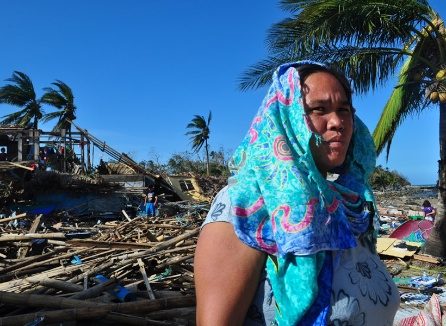 Damage from Typhoon Haiyan. Photo: Christian Aid/Jessica Dator Bercilla