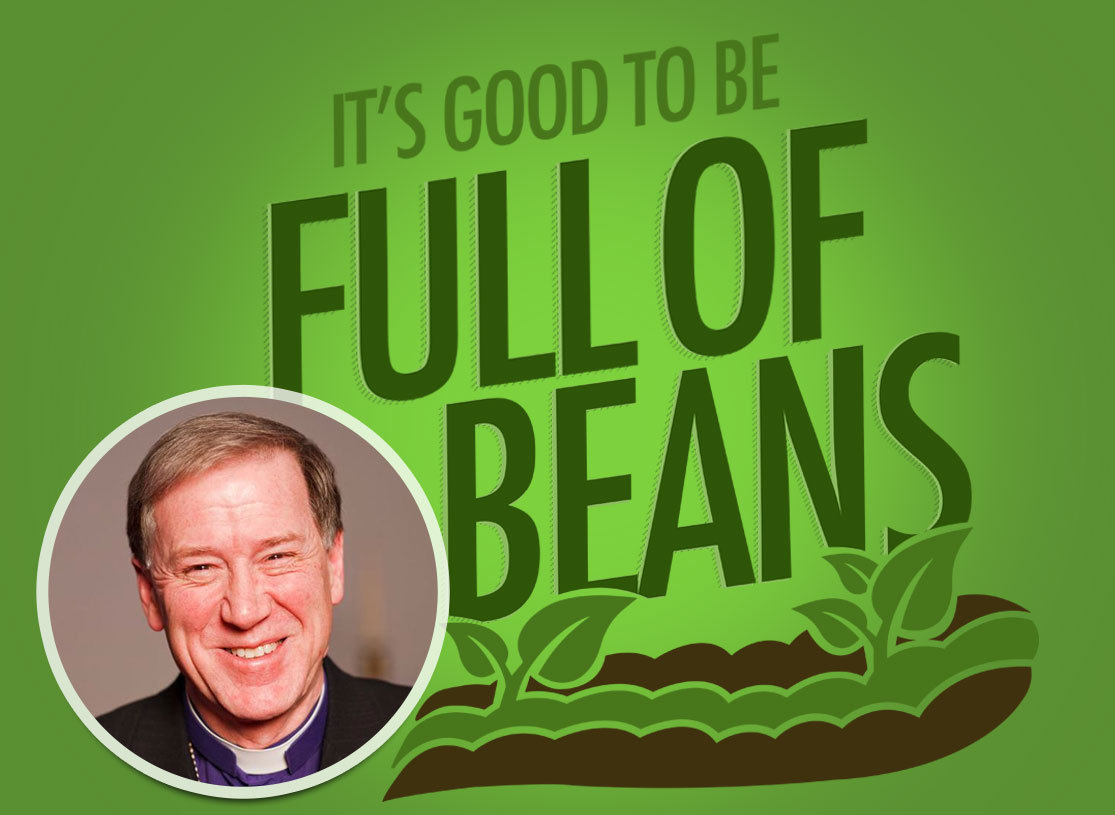 "Fred Says ""It's Good to be Full of Beans"""