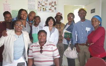 Staff of Temba House. Photo: Jeannethe Lara