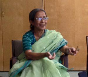 Farida Akhter talking about Nayakrishi Farming methods