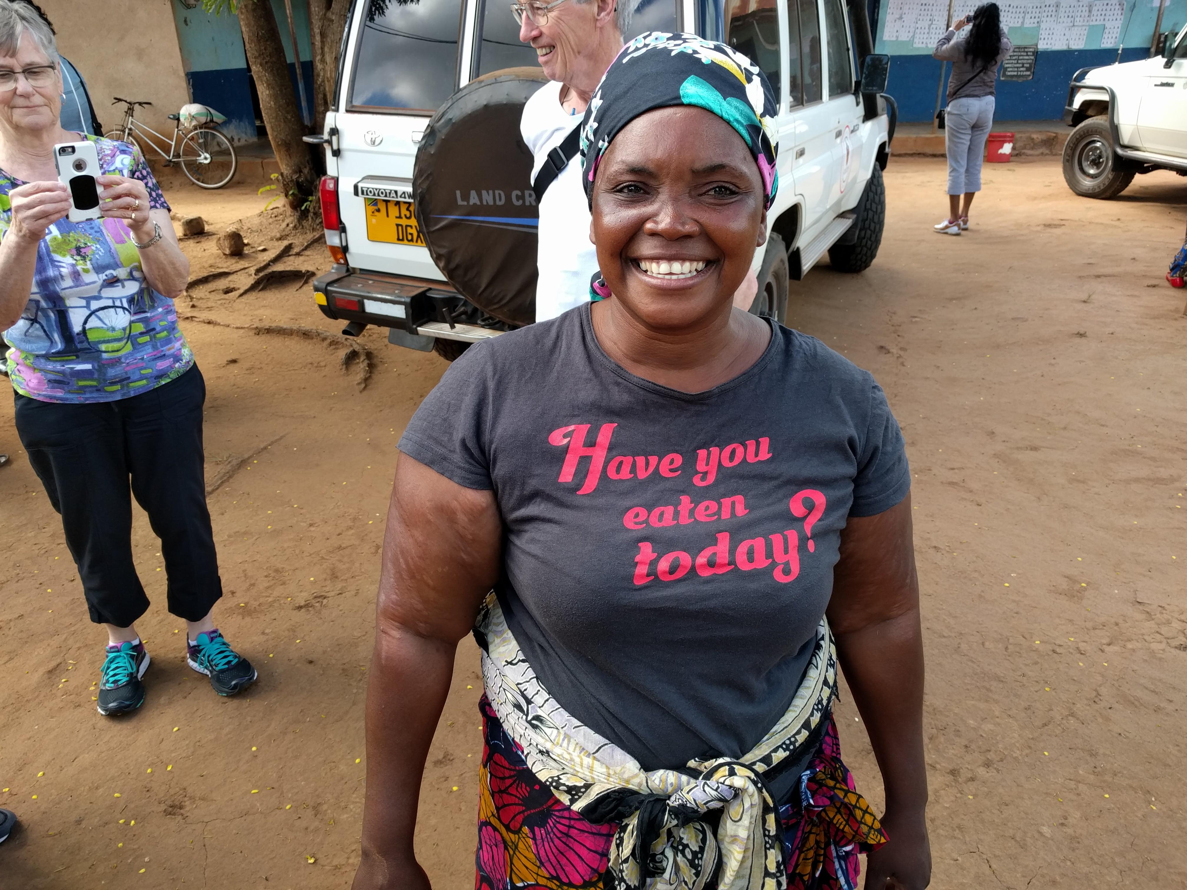 Farmer and community leader Joyce Mtauka.