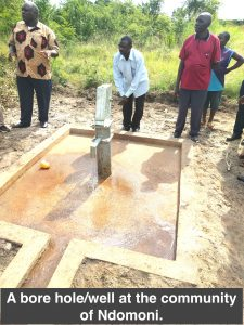 bore hole small