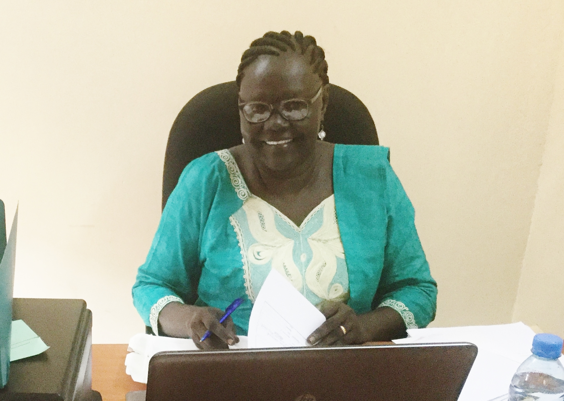 Agnes Wasuk Petia will be coming to Canada.