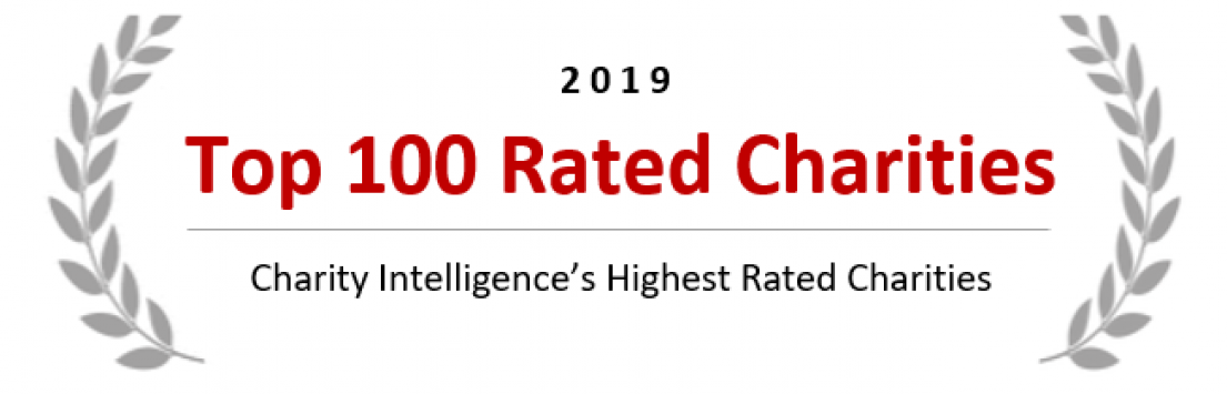 2019 Top 100 Rated Charities - Charity Intelligence Canada