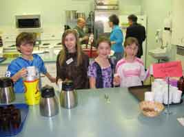 Children from St. Stephen's