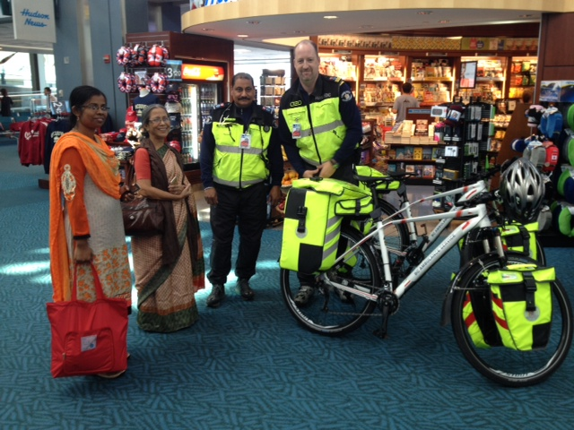 Bicycle Ambulances in the Vancouver airport