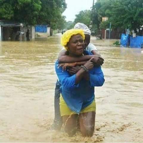 Hurricane Matthew caused flooding and mudslides in Haiti, displacing tens of thousands of people. Photo: LWF Haiti