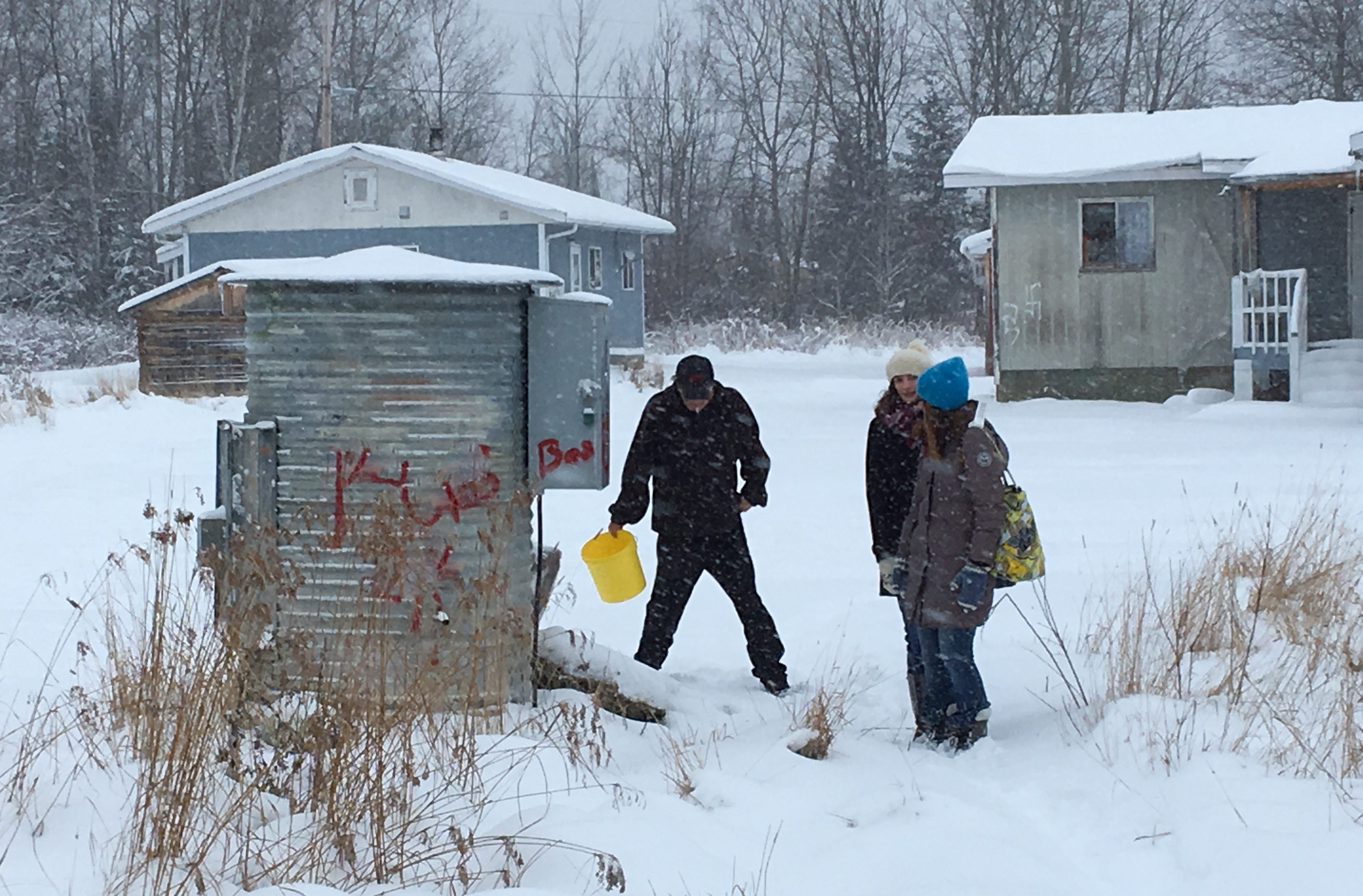 Pikangikum Water Project - The Primate's World Relief and