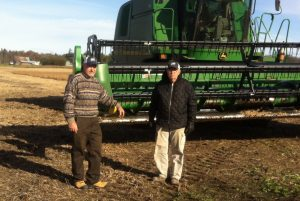 Gary and Ron Weir of the West Carleton Growing Project.
