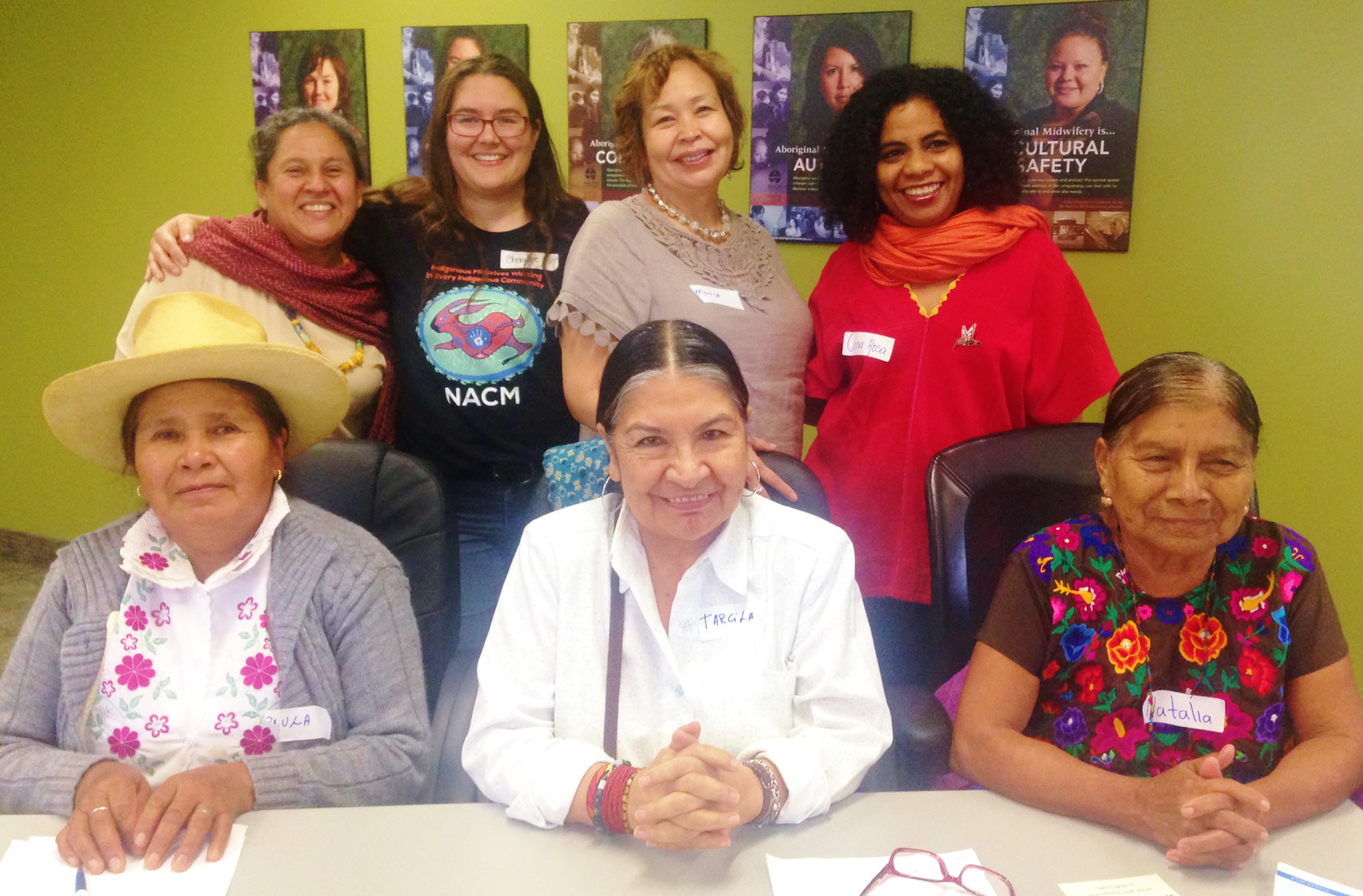 Indigenous midwives from Canada, Peru and Mexico gather in Toronto at the International Congress of Midwives.